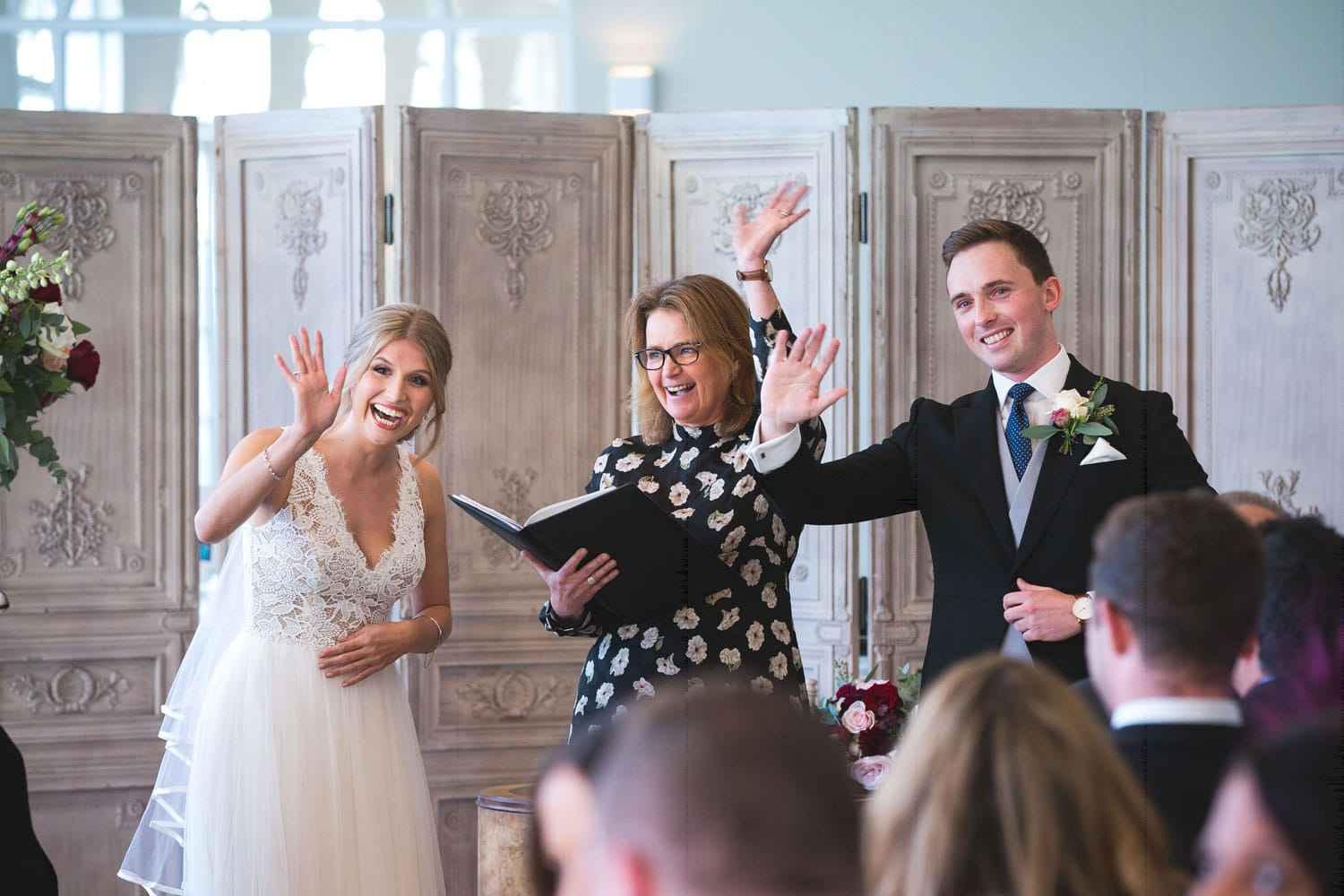 What makes a great wedding celebrant?