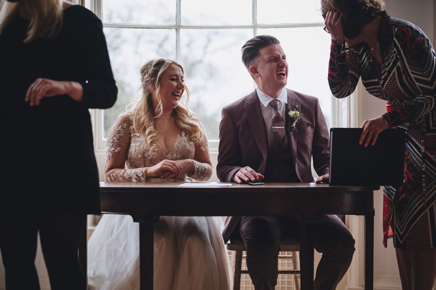 whats the process of working with a wedding celebrant?