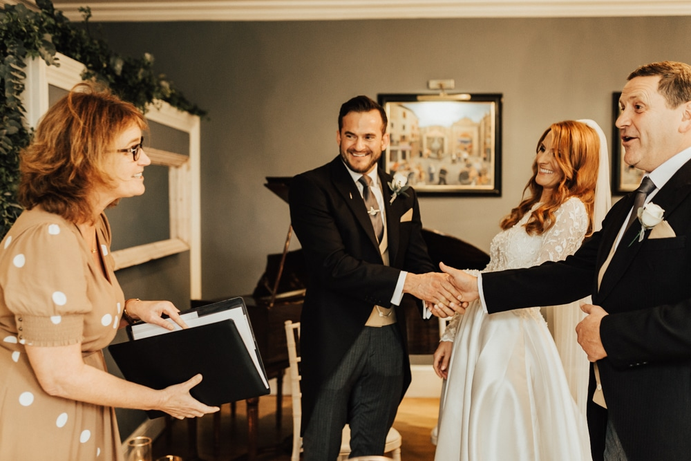 what is the process of working with a wedding celebrant?