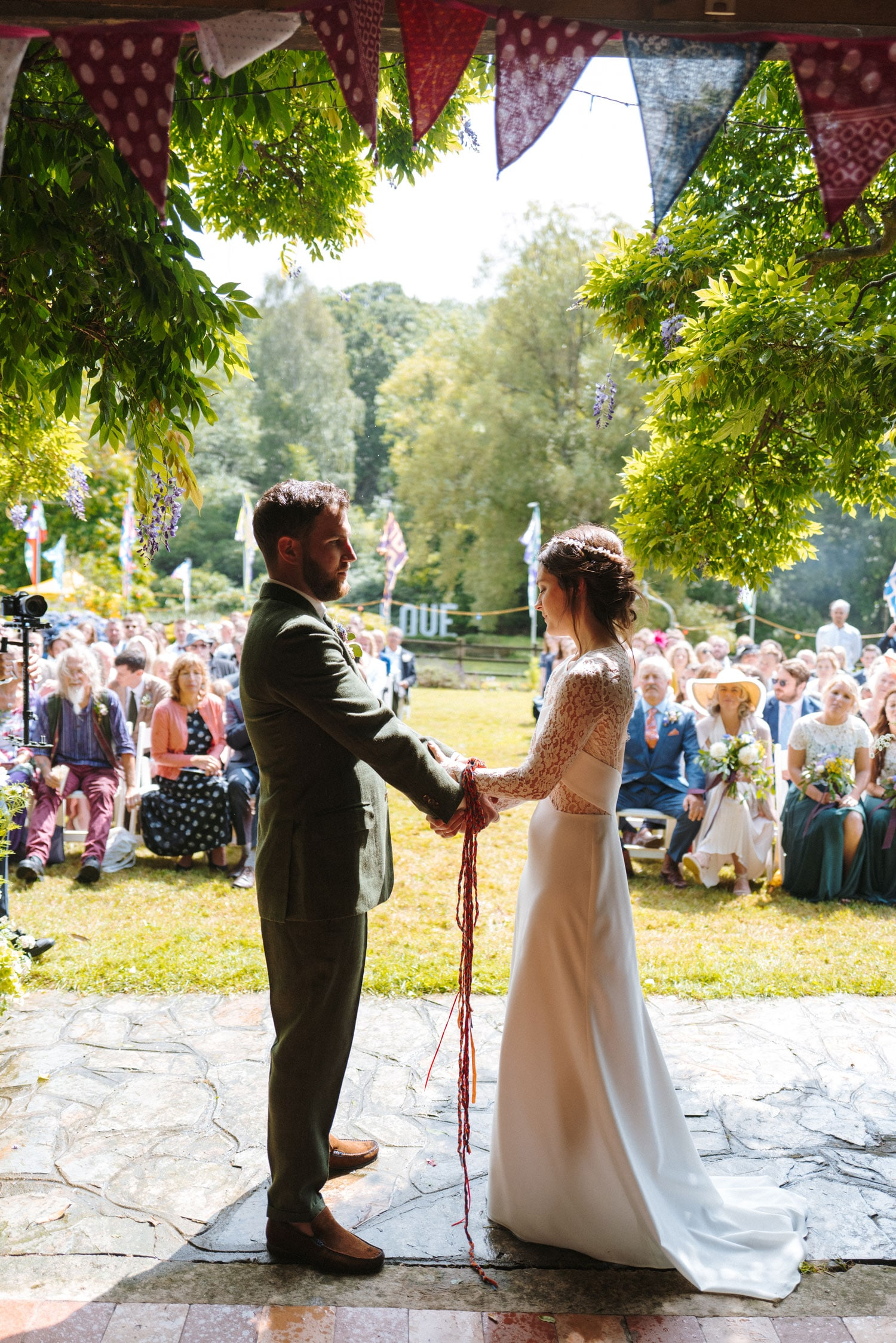 how to plan an at home wedding