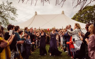 A weekend staycation wedding – what's not to love?